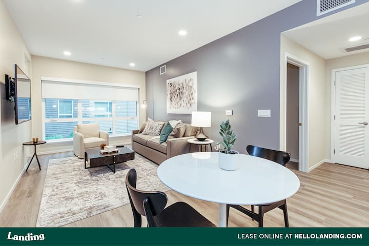 Landing | Stunning Luxury Apartment in Dogpatch