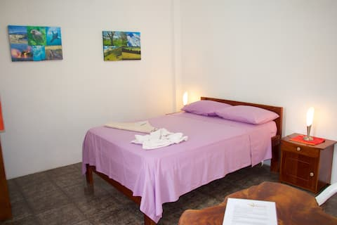 Hostal Suiza room with double bed