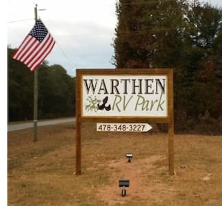 Spacious RV Lots - Warthen