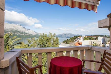 Apartments Jimmy / Studio 1 ANDREJ / balcony / sea view
