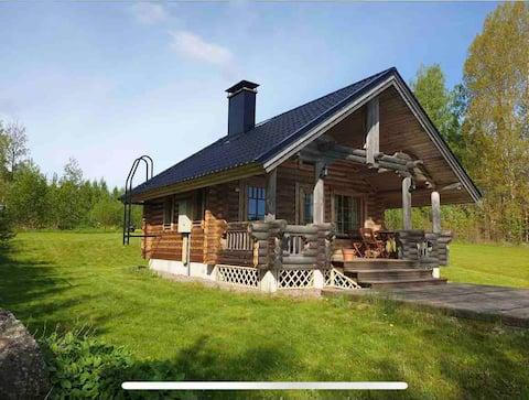 Villa Konnekoski, Upea järven&kosken maisemapaikka