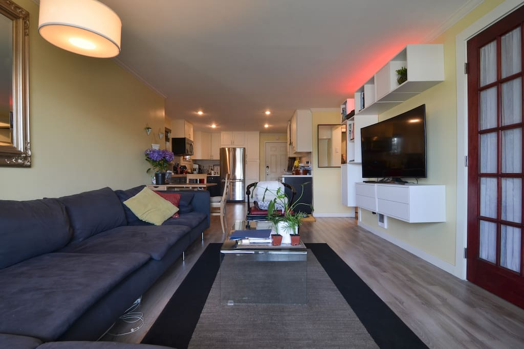 Living space is shared with owner, vistors are welcome to watch TV