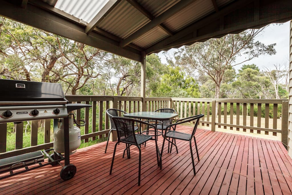 Outdoor setting and your own Private BBQ area!