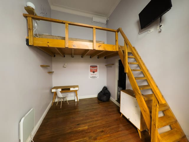 double ensuite with mezzanine Guesthouse