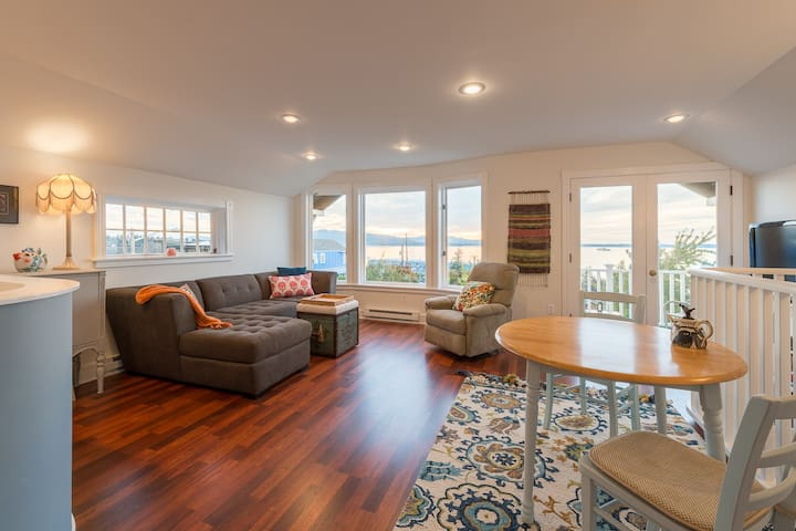 South Hill Apartment with view of Bellingham Bay