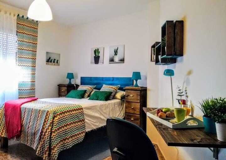 Preciosa habitación en el centro de Granada