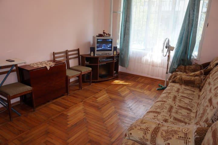 Уютная однокомнатная квартира - Sokhumi - Apartamento