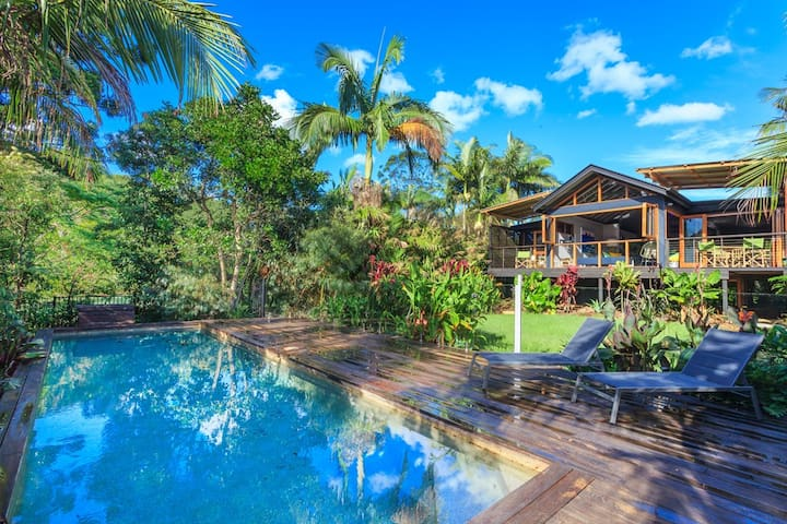 Casa Bamboo, Byron Bay Hinterlands - Bangalow - Haus