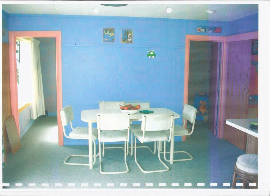 dinning area close to kitchen