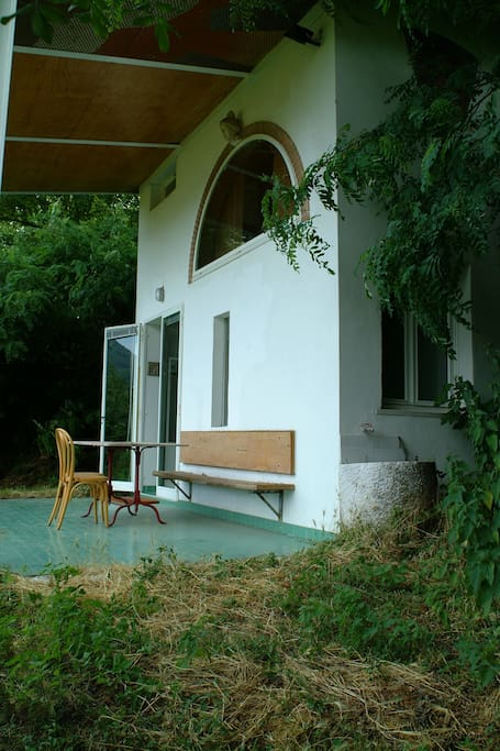 Romantic house in the green