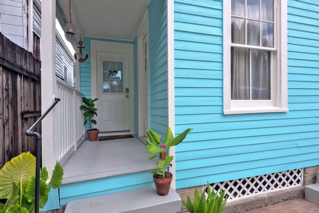 Historical Garden District Shotgun Home Apartments For Rent In New Orleans Louisiana United