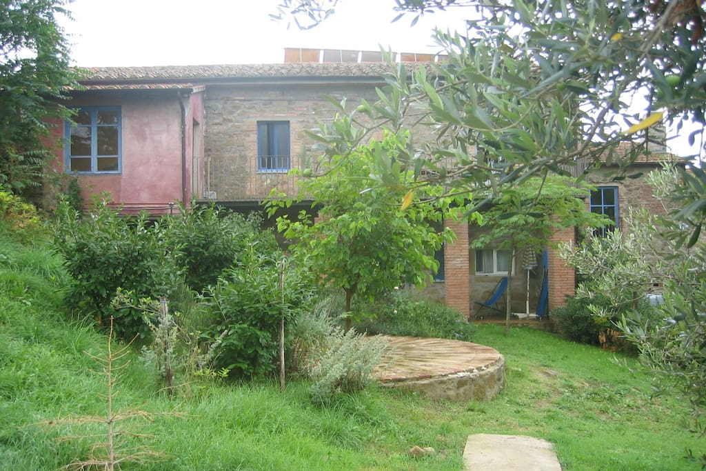 I Cuccioli apartment, garden