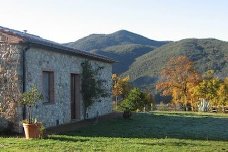apartment in stones in Tuscany - Pomarance