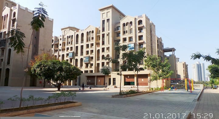 Cosy 1BHK flat near Hinjewadi for long stays