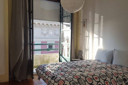 Sunny bedroom at center of Porto - Πόρτο