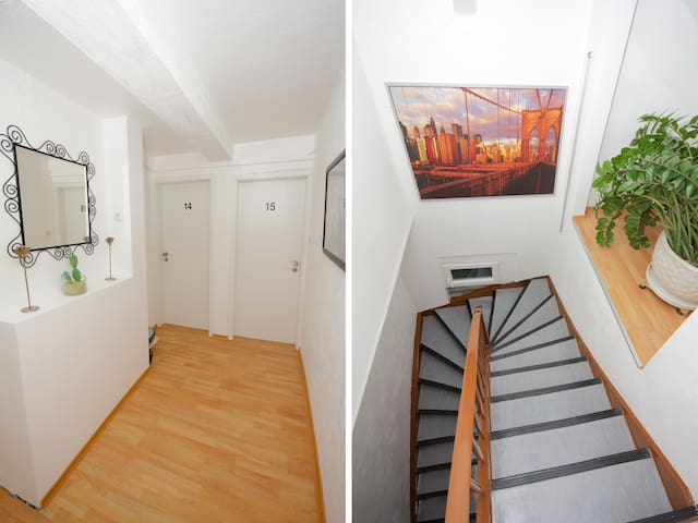 nice double bed apartment