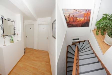 nice double bed apartment  - Stuttgart - Daire