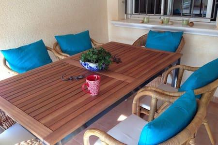 Apartamento junto a la playa. - Los Nietos - Apartemen