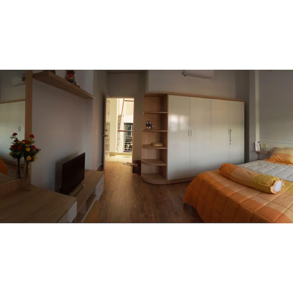 Bedroom in the 1st floor
