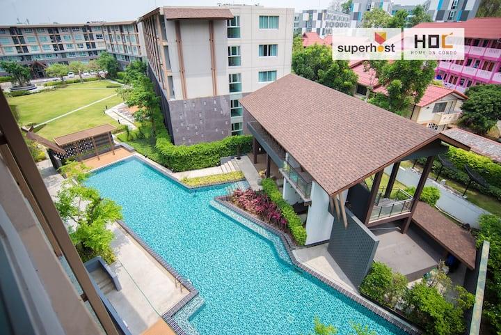 HOC1 Daily Apartment DCondo CMU Chiang Mai