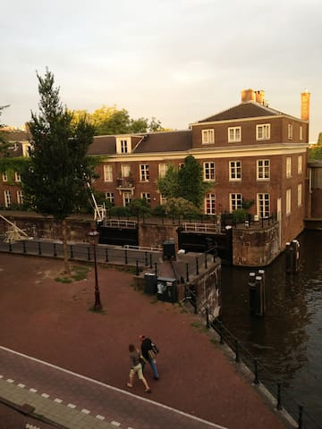 a room with a view in Amsterdam