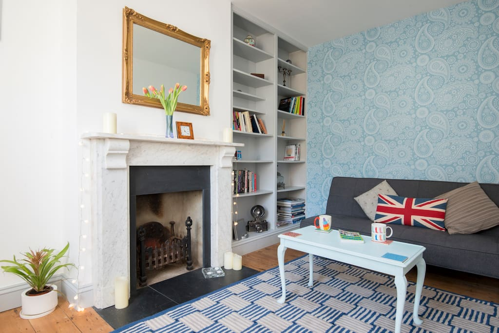 Our cottage is cosy, light-filled, quirky and equipped with all the necessities for a great stay in Brighton & Hove.