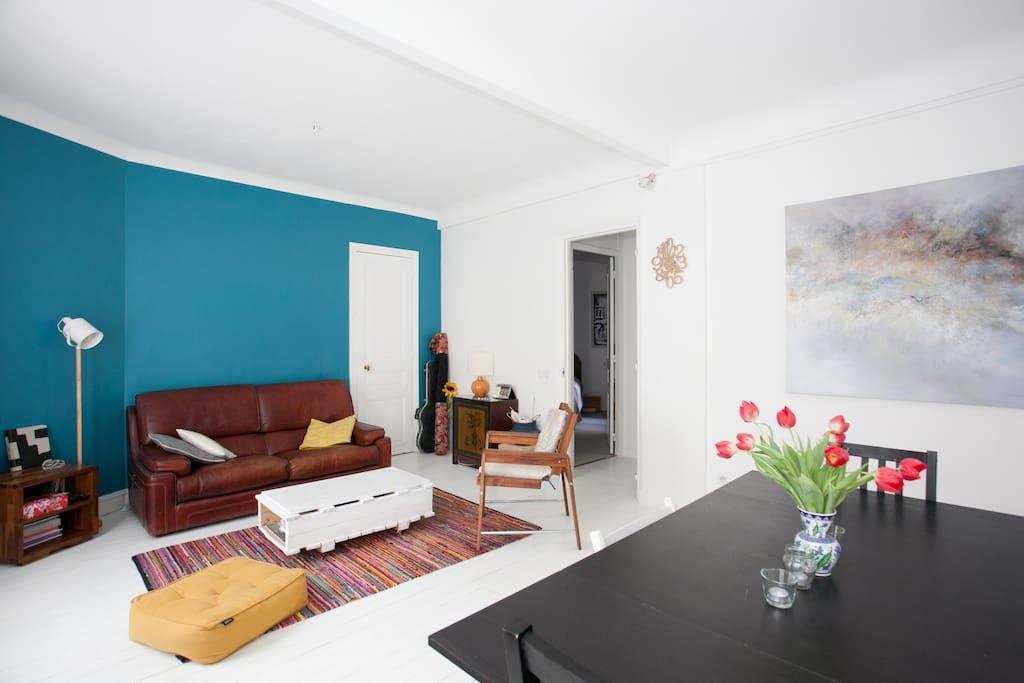 nice flat 76m2 montparnasse apartments for rent in paris le de france france. Black Bedroom Furniture Sets. Home Design Ideas