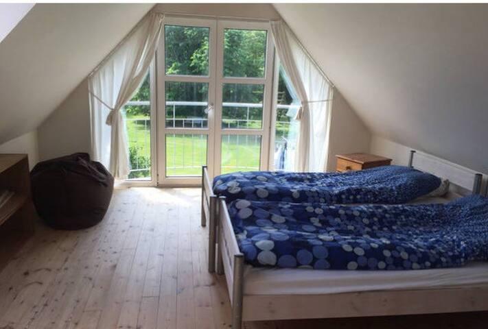 1 værelse med dobbelt seng - Snedsted - Penzion (B&B)