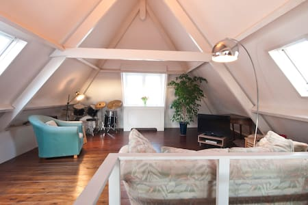 ATTIC near city center The Hague, 3 km to BEACH ! - La Haye - Loft