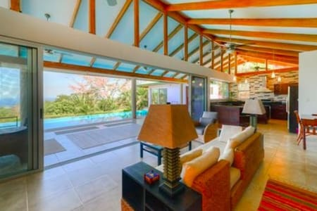 Tranquility and Comfort in Beautiful Nosara Area - Nosara - Casa