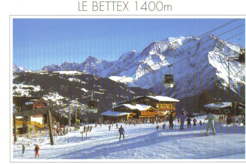 Le Bettex, St Gervais