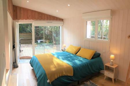 Studio cabane piscine indépendant Cap Ferret