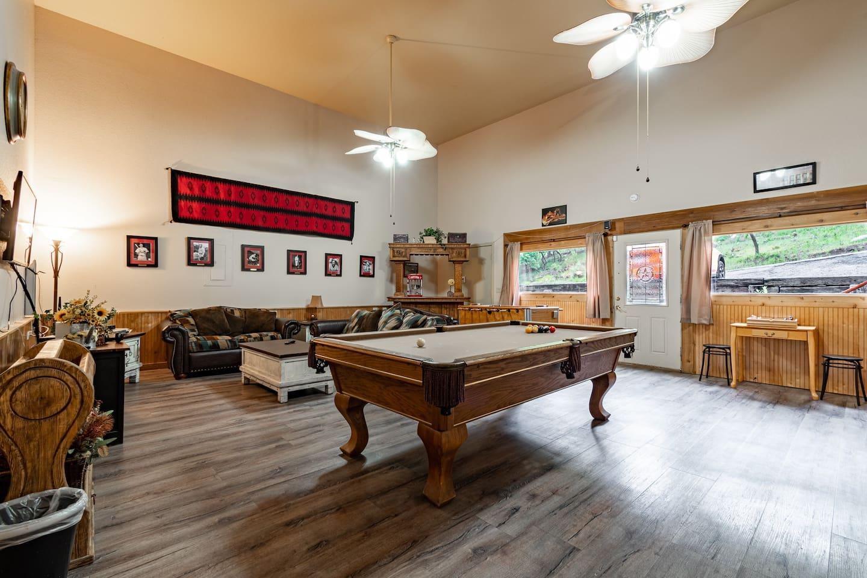 Game Room at Bear Bottoms