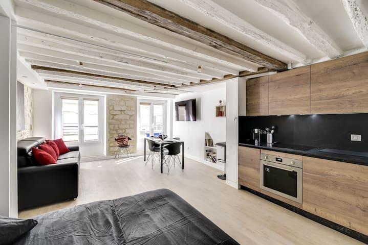 Appartement de charme Montorgueil pour 4 personnes