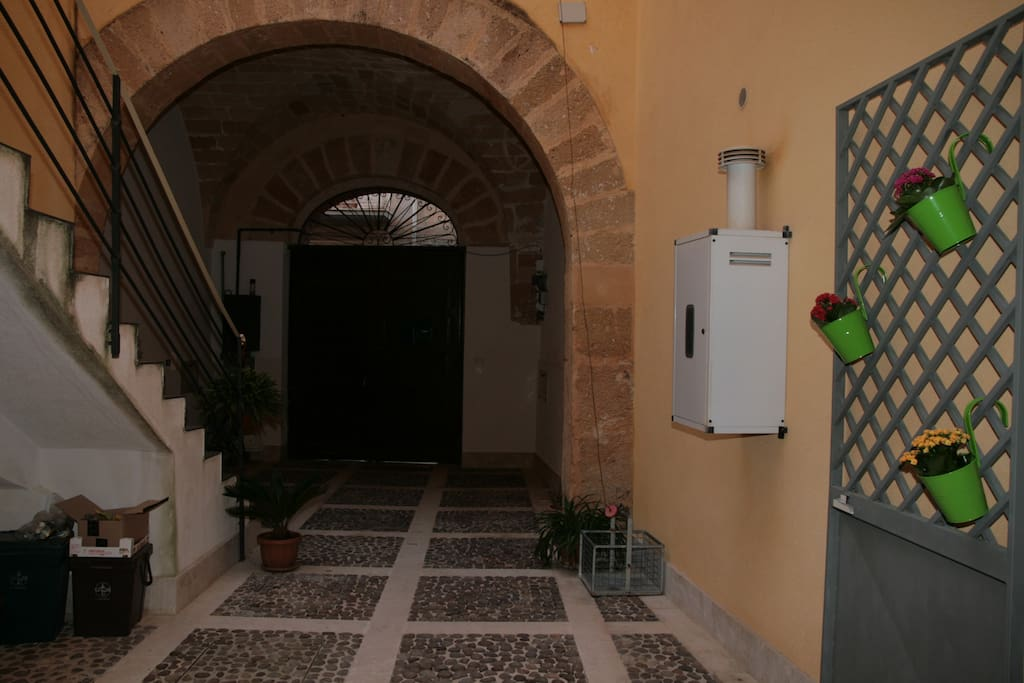 Cortile interno - Inner court