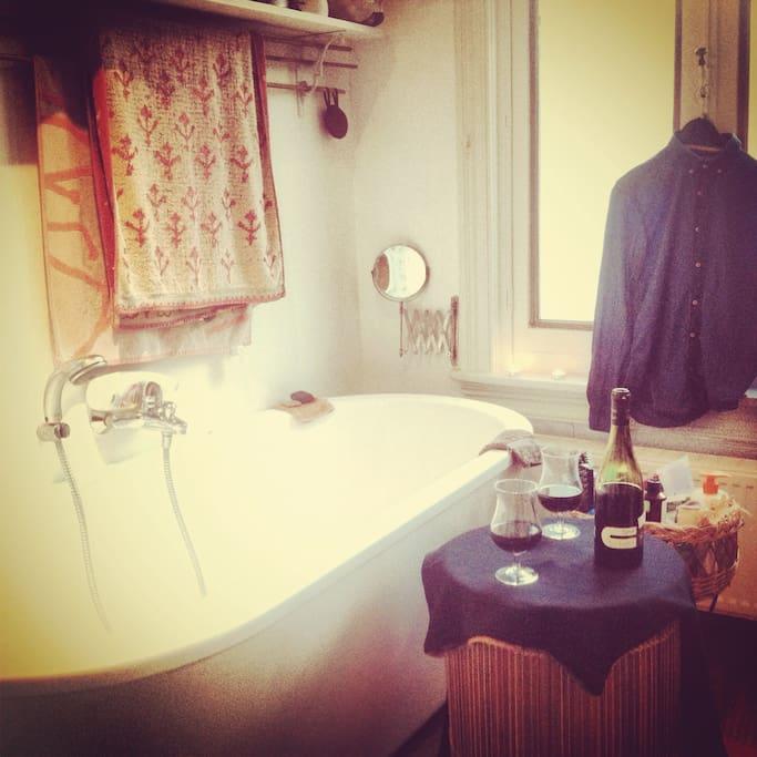 baignoire grand confort