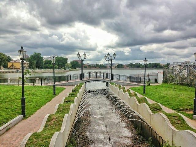 Самый спокойный и зелёный район Калининграда!