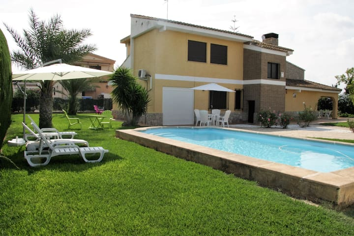 House close to Valencia City and the beach - Bétera - Chalet