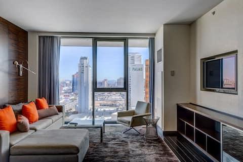 Palms Place Luxury Studio STRIP VIEW NO RESORT FEE