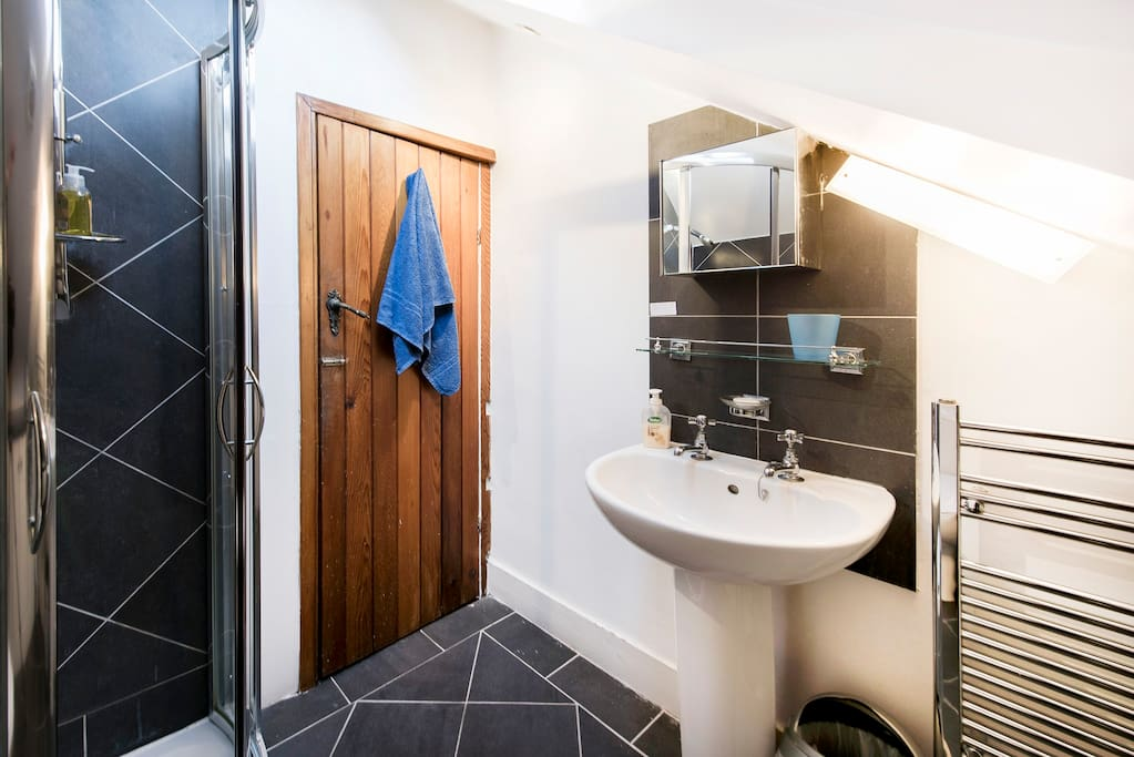 Your own private shower room