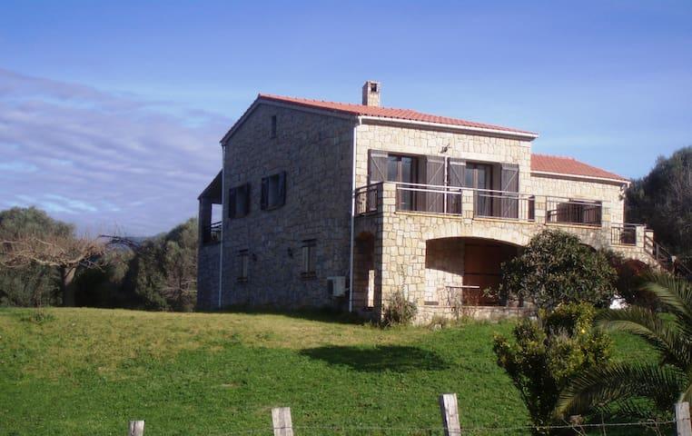Maisonde caractére a 5mn de la mer - Sollacaro - Wohnung