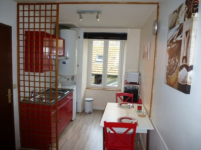 furnished flat in Cherbourg center  - Cherbourg - Apartment