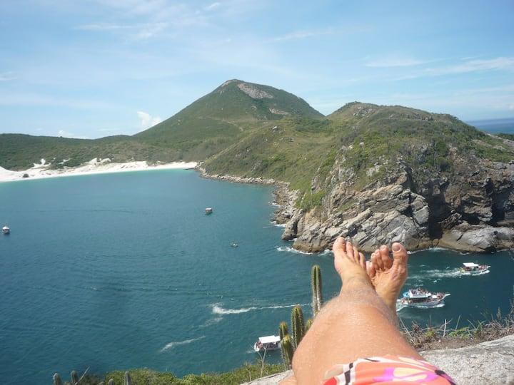 casa na melhor praia do Brasil