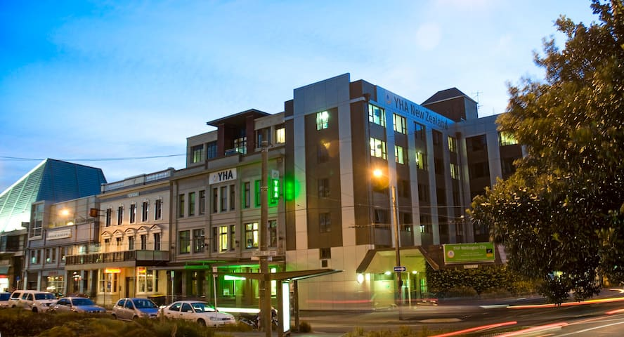 8 Bed Mixed Dorm (Shared Bathroom)- YHA Wellington