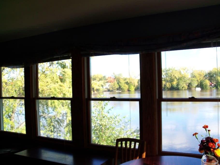 The picture doesn't do justice to the river view from your room...