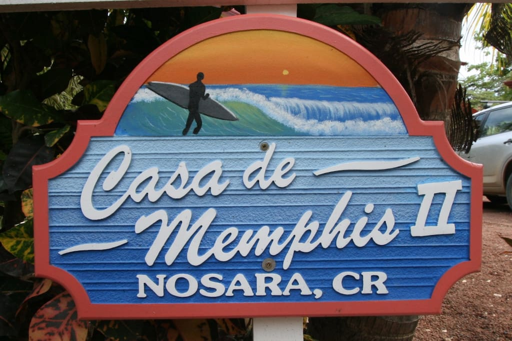 Like the sign says, Casa de Memphis II. Remember there are two CdMs just around the corner from each other.