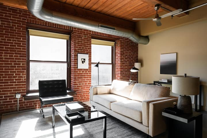 Arch, Dome, Dtown | Large Loft + Rooftop | Zencity
