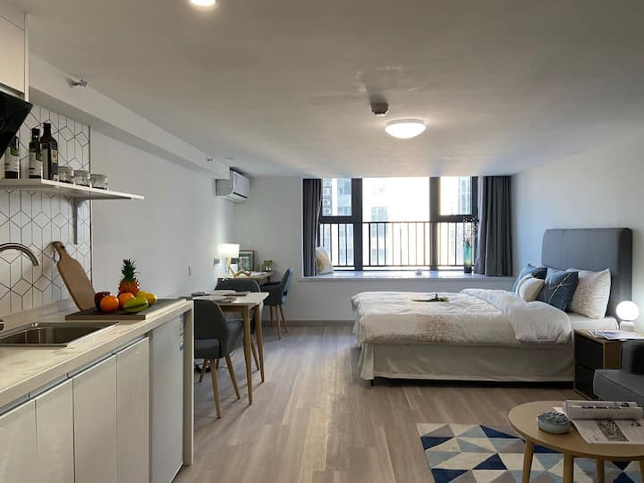 九亭高品质公寓开业特惠,1个月起租享9折优惠