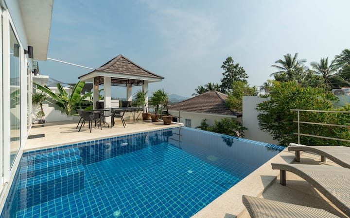 Baan Iris 2BR - Private Pool & Sunrise Deck