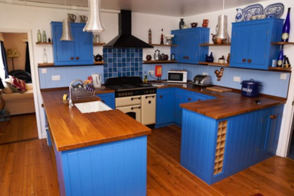 kitchen, plenty of space for cooking